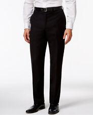Calvin Klein Men's Solid Slim-Fit Pants, Black, 38Wx30L