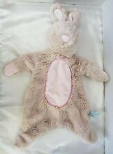 "Douglas Baby Bunny Rabbit Sshlumpie Lovey 19"" Security Plush Tan Pink"
