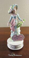 RARE Josef Originals February Musical Doll Figurine My Funny Valentine