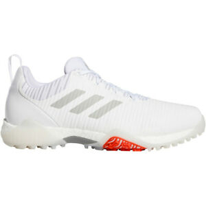 NEW Adidas Mens 2020 CODECHAOS Golf Shoes White/Grey - Choose Your Sz