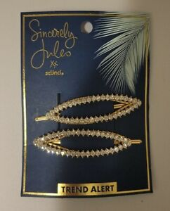 Sincerely Jules by scunci Rhinestone Jeanwire bobby pins 2-pack