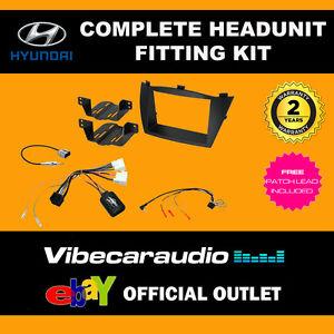 CTKHY06 Hyundai ix35 2010 - 2013 Double Din Radio Installation Kit