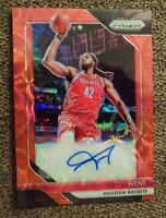 2018-19 Panini Prizm Signatures Choice RED PRIZM Nene Houston Rockets Auto