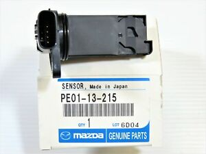 Genuine OEM Mazda PE01-13-215 Mass Air Flow Sensor 3 6 MX-5 Miata CX-3 CX-5 CX-9