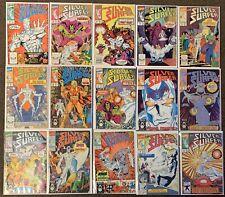 60 Silver Surfer Marvel Comics Lot