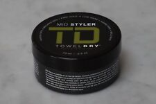 2.5 oz. TD Towel Dry Men's Grooming Mid Styler. Firm Hold. Low Shine. 73ml. NEW.