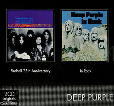 DEEP PURPLE - IN ROCK / FIREBALL, 2009 FRENCH LIMITED EDITION 2CD SET, SEALED!