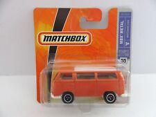 Matchbox Superfast 1970 Volkswagen T2 Classic Bus - Orange - Mint/Boxed