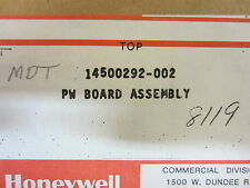 HONEYWELL  PW BOARD ASSEMBLY 14500292-002 MDT FUNCTION CARD