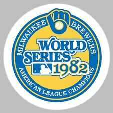 GOLF/ Milwaukee Brewers 1982 World Series Ball Marker/with Magnet Hat Clip New!!