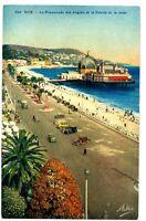 CPA 06 Alpes-Maritimes Nice la Promenade des Anglais et le Casino de la Jetée