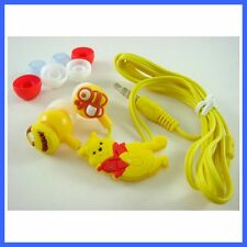 New Winnie The Pooh Mobile Headphone Headset Earphone Earbud For iPhone Mp3 /4