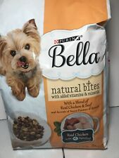 Purina Bella Natural Bites  Real Chicken And Beef Dry Dog Food - 3 lb. Bag