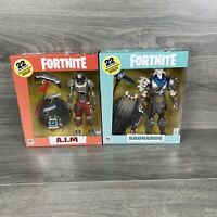 Lot Of 2 Fortnite RAGNAROK, A.I.M McFarlane Toy Fortnite Deluxe Action Figure 7""