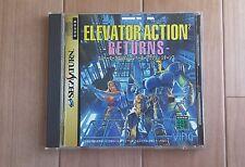 Elevator Action2 Returns Sega Saturn Ving JPN Tested&working