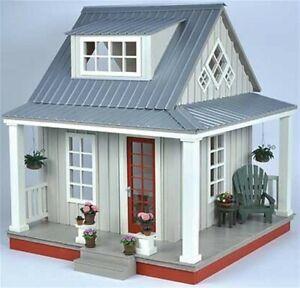 dollhouse miniature wood kits 1:12