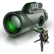 ARPBEST 12X50 High Definition Monocular Telescope with Smartphone Holder&Tripod