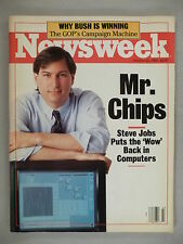 Newsweek - October 24, 1988 ~~ Steve Jobs cover/article