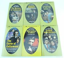 Dark Shadows Marilyn Ross Lot of 6 Books 1960's vampire gothic Victoria Collins
