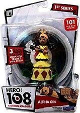 Hero: 108 Kingdom Krashers Alpha Girl Action Figure NIB Playmates Toys 101