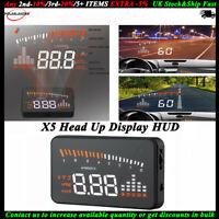 3'' System Voiture HUD Compteur de vitesse Alarm Projecteur Affichage tête haute