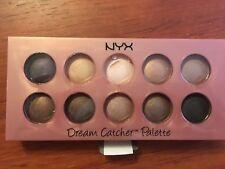 New NYX dream Catcher palette dusk till dawn eye shadow nuetrals