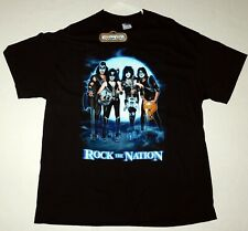 KISS Band Rock The Nation Tour 2004 Group Pose T-Shirt Winterland XL NEW UNWORN