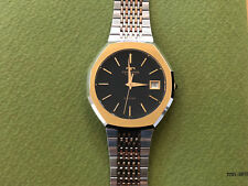 Technos Brand New & Never Worn Rare Men's Watch in Stainless Steel/Gold Plated.