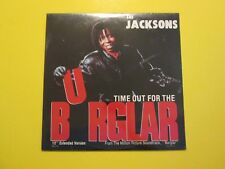 """The Jacksons Time Out For The Burglar Soundtrack 1987 Promo NEW SEALED 12"""" LP"""