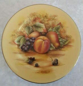 """AYNSLEY  """"ORCHARD GOLD"""" SIDE PLATE"""
