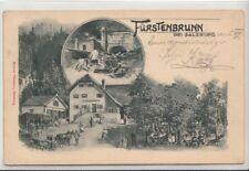 74558/50- Fürstenbrunn im Bezirk Salzburg-Umgebung 1903