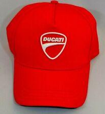 Red DUCATI Baseball Cap