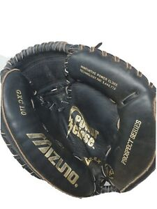 Mizuno Prospect GXC110 Leather Youth Catchers Mitt Right Hand Thrower LH 9 10 ?