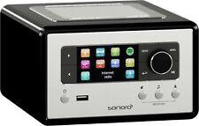 Sonoro Relax schwarz Internet-Radio Multiroom FM/DAB+/Bluetooth/USB/W-LAN/LAN