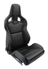 Recaro Sportster CS sièges Sport Cuir Synthétique Noir 410001132 ABE siège du conducteur