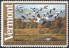 VT7 1992 Vermont State Duck Stamp