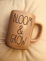 Rae Dunn Bloom & Grow Cup Mug Magenta Collection Pink Farmhouse Style NEW