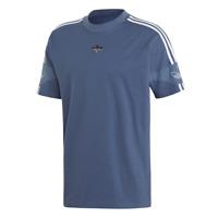 Adidas Team Signature Trefoil T-Shirt Uomo ED7119 Tech Ink