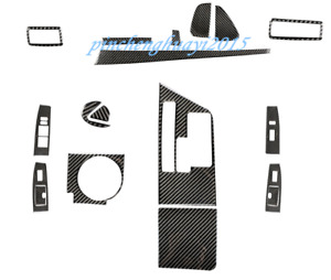 Real Carbon Fiber Car Interior Kit Cover Trim For Lexus ES250 ES300H 2012-2014