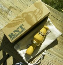 RNT Rich-N-Tone Lil Richie Bois D'Arc Hedge Wood Mallard Duck Call Special Order