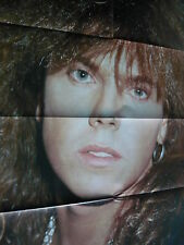 EUROPE (JOEY TEMPEST) - LARGE MAGAZINE FOLD-OUT POSTER (REF Z)