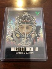 10/11 ITG Masked Men III Mathieu Garon Hockey Card #MM-34