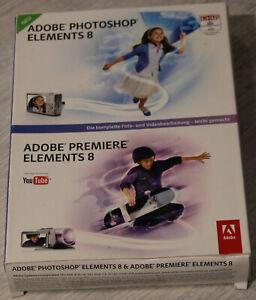 Adobe Photoshop Elements 8 und Adobe Premiere Elements 8