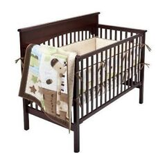 Circo Chomps Nature Neutral Alligator Giraffe Bird Crib Nursery Bedding Set NEW
