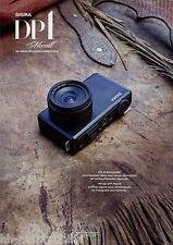 Prospekt Sigma DP1 Merrill 2012 digitale Kompaktkamera Kameraprospekt brochure