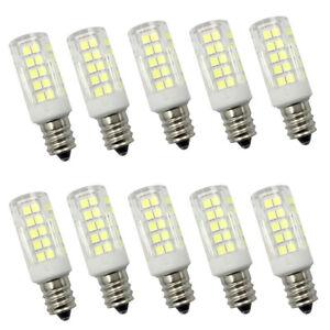 10x E12 Candelabra C7 LED Light bulb 64-2835 AC/DC12V Low Voltage Ceramics Lamp