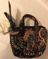 Vera Bradley Limited Kensington Key Chain Key Bag Charm Mini Miller