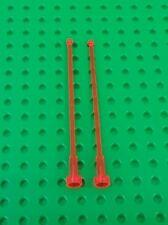 *NEW* Lego Aerials Long 1x10 Stud Orange Aerials Control Antennas - 2 pieces