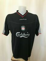 "Liverpool 2002/2003 away Size 42/44"" Reebok football shirt jersey soccer maillot"