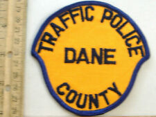 DANE COUNTY WISCONSIN POLICE  FABRIC PATCH